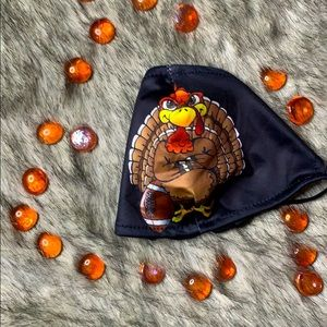 Thanksgiving Day Masks - Football Turkey